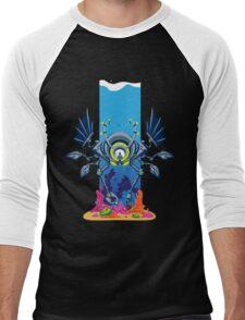 Professor Henry Winklebaum's Underwater Quest Men's Baseball ¾ T-Shirt
