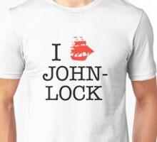 I Ship Johnlock Unisex T-Shirt
