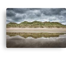 Dune Reflection Canvas Print