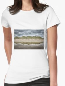 Dune Reflection Womens Fitted T-Shirt