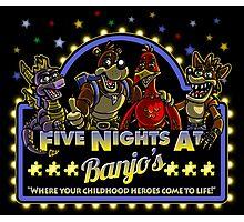 Five Nights at Banjo's Photographic Print