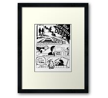 """Robbers"" by The 1975 Framed Print"