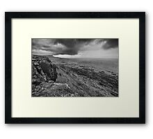 Binevenagh Storm Clouds Framed Print