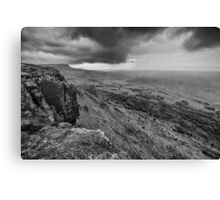 Binevenagh Storm Clouds Canvas Print