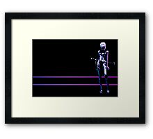 Tron- Ninja wallpaper Framed Print