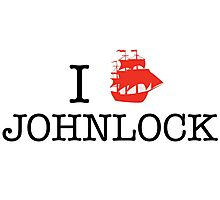 I Ship Johnlock Photographic Print