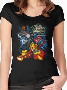 Avengermon! Women's Fitted Scoop T-Shirt