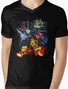 Avengermon! Mens V-Neck T-Shirt