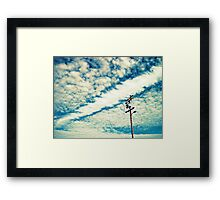 finding time to dream..... Framed Print