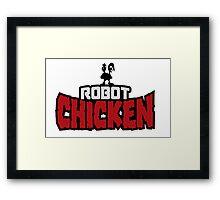 Robot Chicken Framed Print
