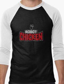 Robot Chicken Men's Baseball ¾ T-Shirt