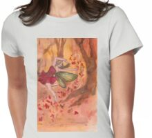 Fall Fairy Womens Fitted T-Shirt
