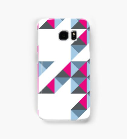 Neon Houndstooth Plaid Samsung Galaxy Case/Skin