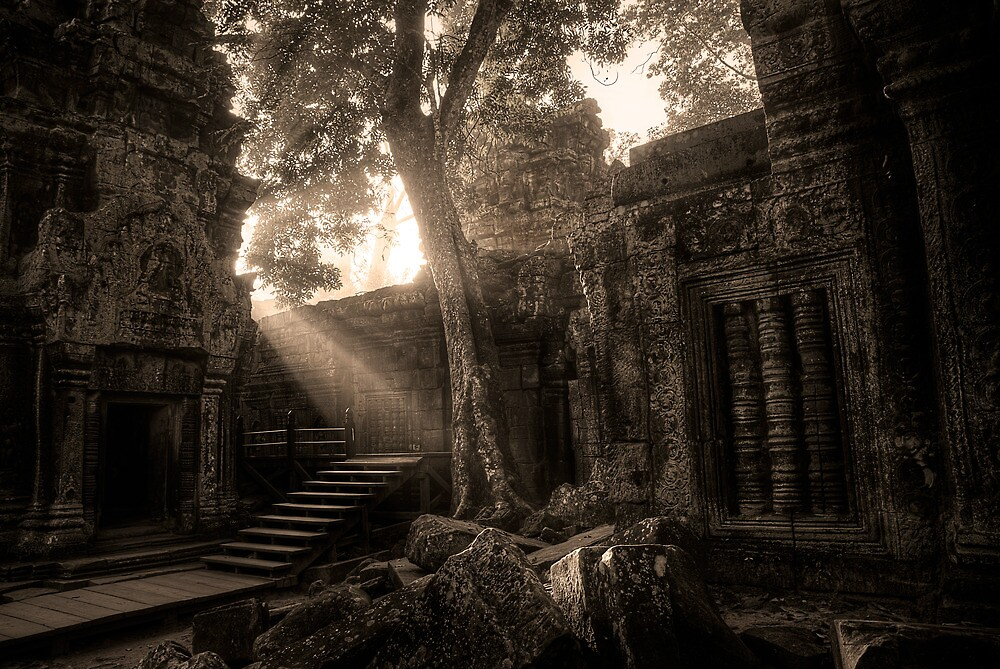 Angkor Wat - Part 2 by Anthony and Kelly Rae