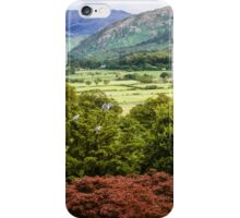 The Lakes, Mountains  - A View  iPhone Case/Skin