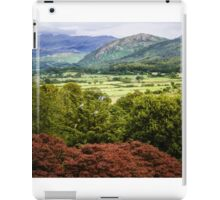 The Lakes, Mountains  - A View  iPad Case/Skin