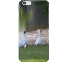 MR & MRS GOOSE iPhone Case/Skin