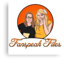 Fanspeak Files Logo Canvas Print