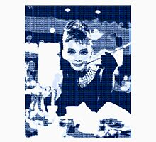 Audrey Hepburn Breakfast at Tiffany's Blue  Unisex T-Shirt