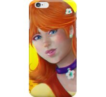 Daisy Flower Princess iPhone Case/Skin