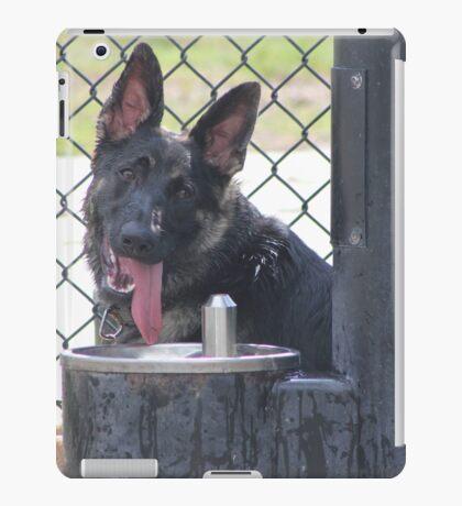Happy puppy iPad Case/Skin