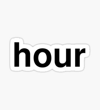 hour Sticker