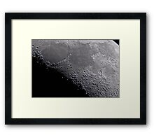 Seas of Serenity, Tranquility, Fertility, and Nectar - Landolt Observatory Framed Print