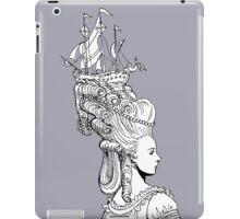 Girl With Ship iPad Case/Skin