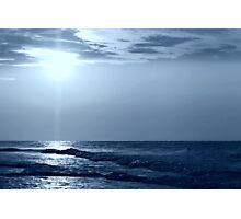 a Blue Horizon Photographic Print