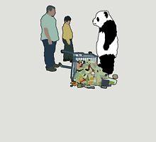 Never Say No To Panda! [Black Outline] Unisex T-Shirt