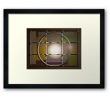 Caged Heat Framed Print