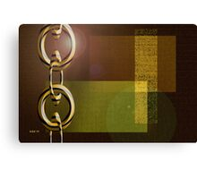 Chain Chain Chain Canvas Print