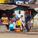 People collecting water in Nairobi - KENYA by Atanas Bozhikov NASKO
