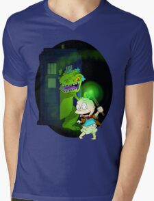 Doctor Pickles Mens V-Neck T-Shirt