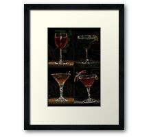 Drink Combo 4 Framed Print
