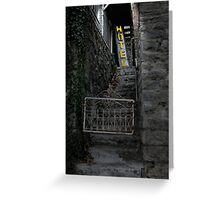 Eureka Alley 2 Greeting Card