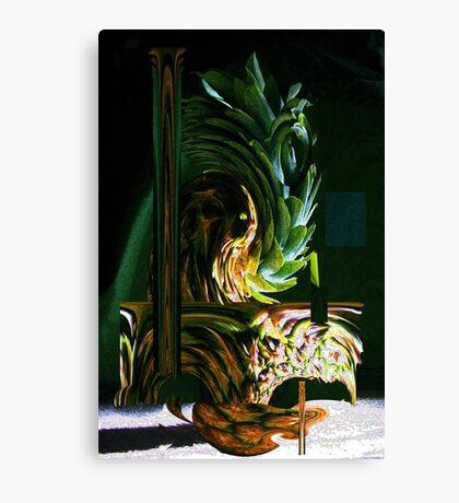 Funky Pineapple Canvas Print