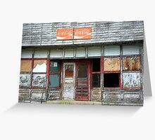 Hagarville Store Greeting Card