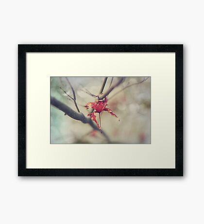 Wrapped Around Your Finger Framed Print