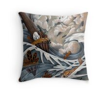 King of the Isle Throw Pillow