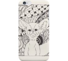 Vulpes Zerda in Zen iPhone Case/Skin