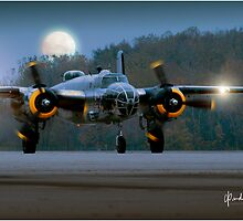 B-25 at Night by Need4Speed