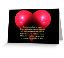 Candles in My Heart Greeting Card