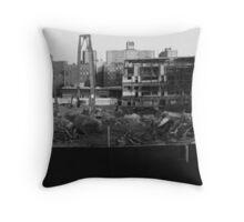 Old Yankee Stadium Throw Pillow