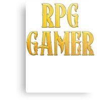 RPG Gamer Role Playing Gamer T Shirt Metal Print
