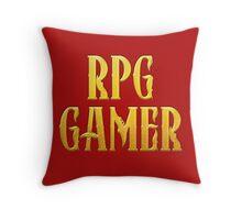 RPG Gamer Role Playing Gamer T Shirt Throw Pillow