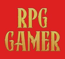 RPG Gamer Role Playing Gamer T Shirt Kids Tee
