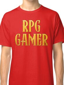 RPG Gamer Role Playing Gamer T Shirt Classic T-Shirt