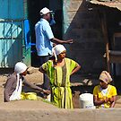 Street vendors in Nairobi - KENYA by Atanas NASKO