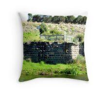 Merri river - old Bridge - Warrnambool Throw Pillow